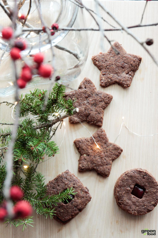 Biscotti vegan di natale-mygreenfood