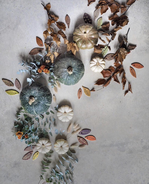 zucche decorazioni autunnali