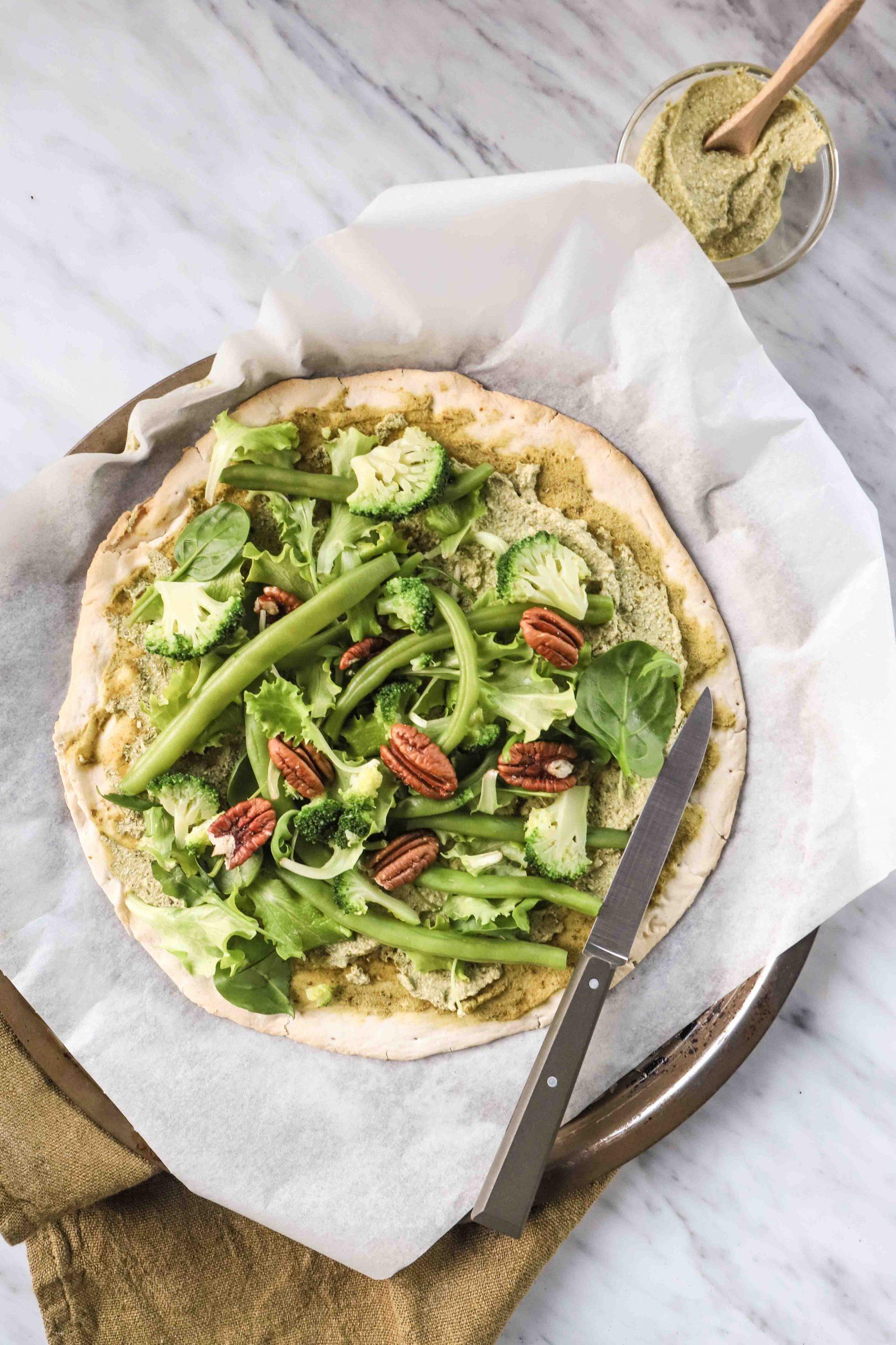 pizza green mygreenfood