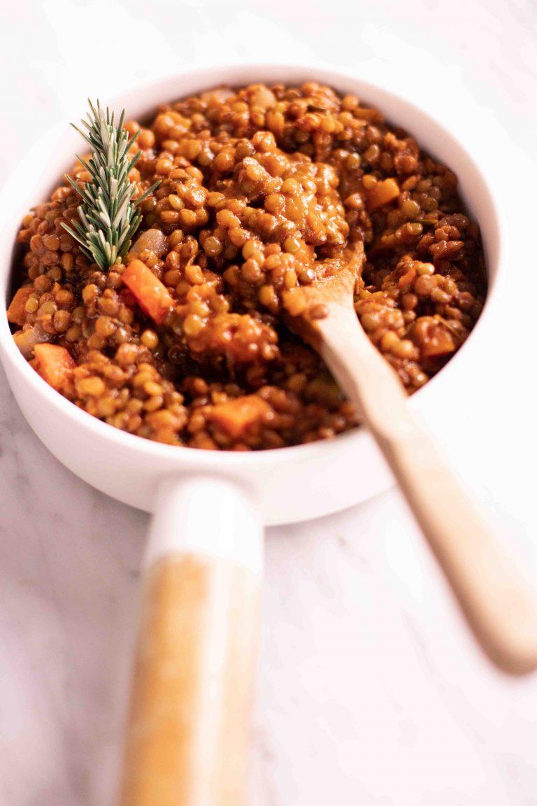 Ragù di lenticchie mygreenfood